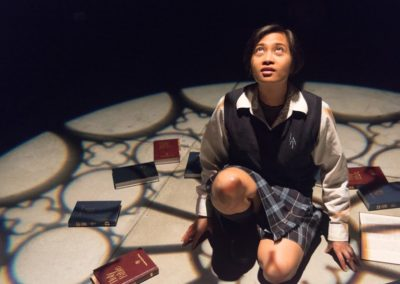 Sister Mary's a Dyke?! - Cahoots Theatre Projects - Pictured: Flerida Peña